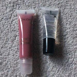 Lancôme 2 New lip base & lipgloss